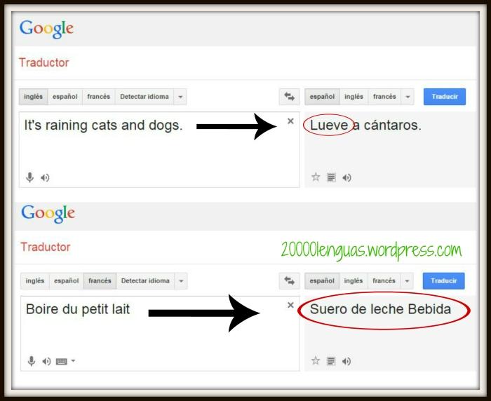 Errores traducción
