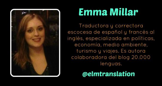 Emma Millar traductora