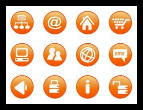 iconos en localización