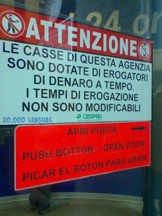 Traductores en falta