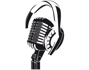 micrófono para vocalizar en interpretación