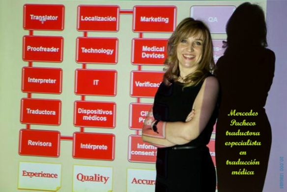 Mercedes Pacheco traductora médica inglés-español