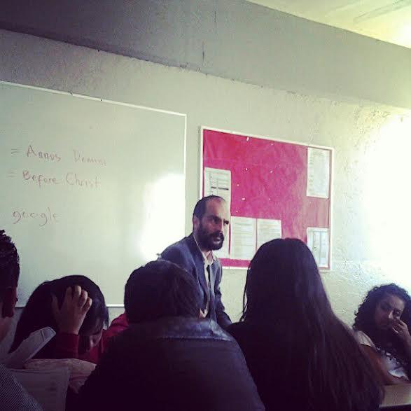 David Huerta profesor de traducción en México