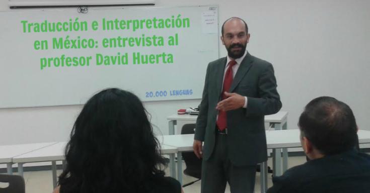 David Huerta traductor México