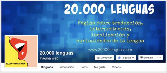20.000 lenguas en Facebook