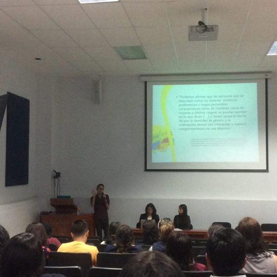 David Areyzaga en las Primeras Jornadas para futuros Traductores de la UAQ