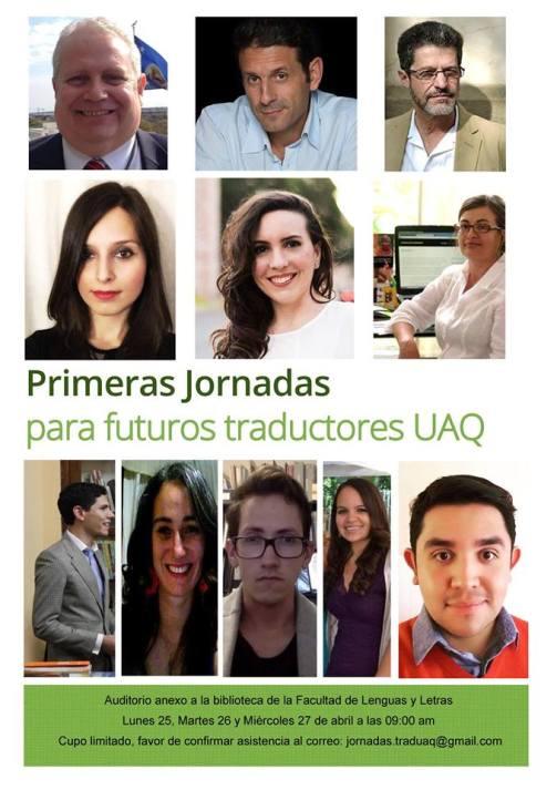 Primeras Jornadas para Traductores Universidad Autónoma de Querétaro México