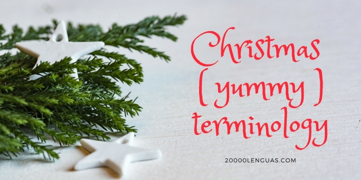 Christmas (yummy) terminology